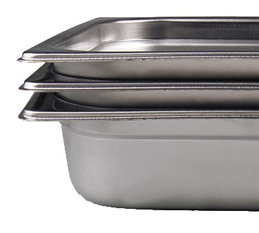 "STEAMTABLE PAN, NINTH SIZE, 2 1/2"" DEEP"